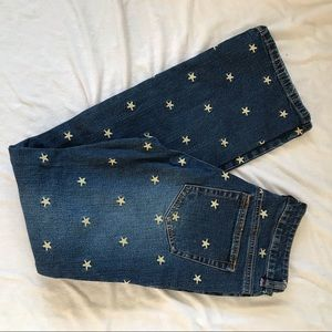 Lilly Pulitzer Embroidered Starfish Denim Jeans 6